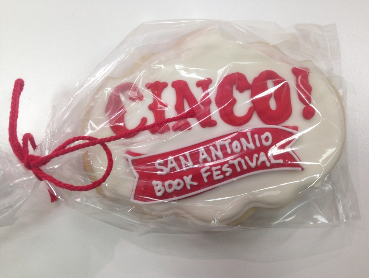 San Antonio Book Festival Cookie