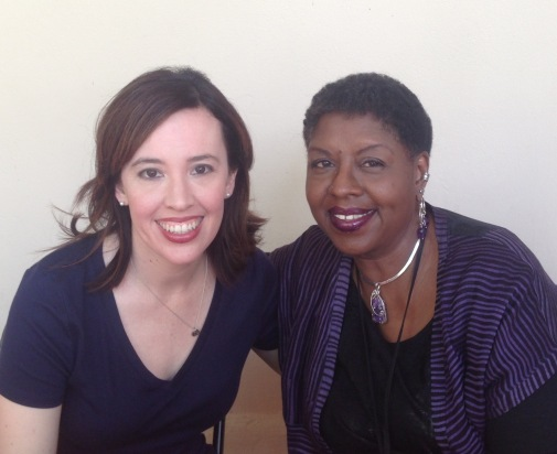 It's me and Nikki Grimes!